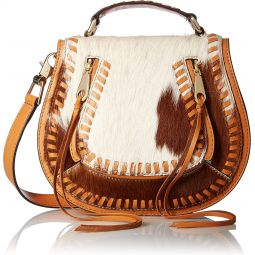 Rebecca Minkoff Haircalf Small Vanity Saddle