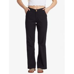 Oceanside High Waist Flared Beach Pants
