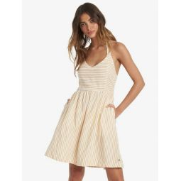 From The Side Halter Dress