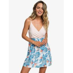 Floral Offering Strappy Dress