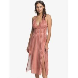 Young Goddess Strappy Maxi Dress