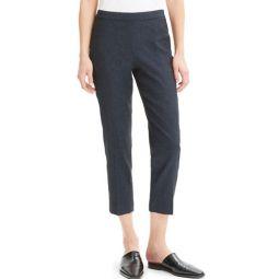 Eco Sharkskin Basic Pull-On Crop Pants