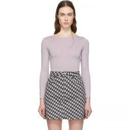 Purple Long Sleeve Bodysuit