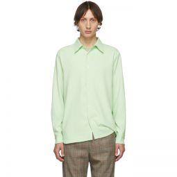 SSENSE Exclusive Green Classic Shirt