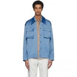 Blue Duchesse Workmens Jacket
