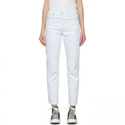Blue Wedgie Fit Icon Jeans