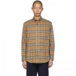 Beige Check Jameson Shirt