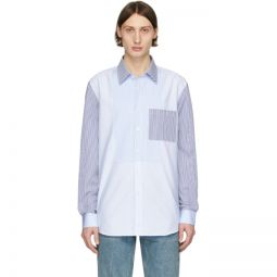 Blue Striped Chelmsford Shirt