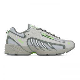 Grey Fila Edition Low-Top Sneakers