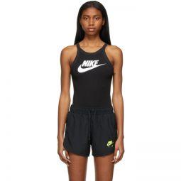 Black Sportswear Essential Bodysuit