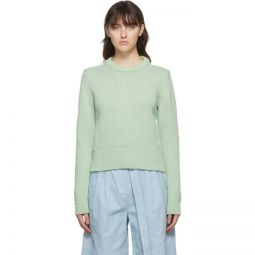 Green Yarn Shrunken Sweater
