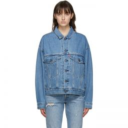 Blue Denim Stay Loose Trucker Jacket