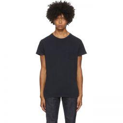 Black 1950s Sportswear T-Shirt