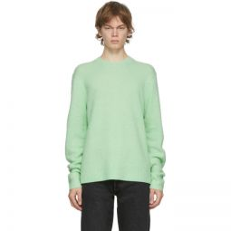 Green Wool & Cashmere Sweater