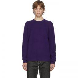 Purple Wool & Cashmere Sweater