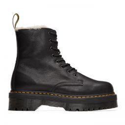 Black Jadon Faux-Fur Lined Boots