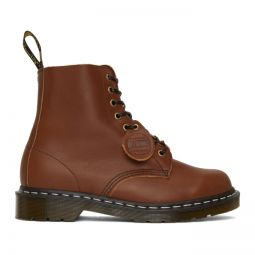Brown Horween Made in England 1460 Boots