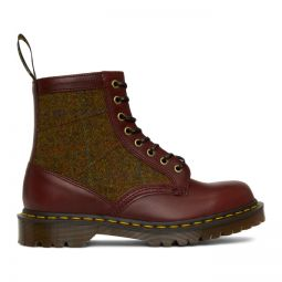 Burgundy Made in England 1460 Boots