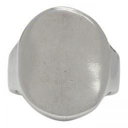 Silver Coco Ring