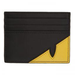 Black & Yellow Bag Bugs Mono Eye Card Holder