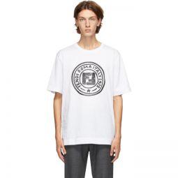 White Joshua Vides Edition Logo T-Shirt