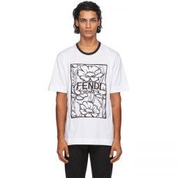 White Joshua Vides Edition Floral T-Shirt