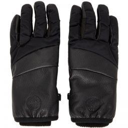 Black Nylon Metal Gloves