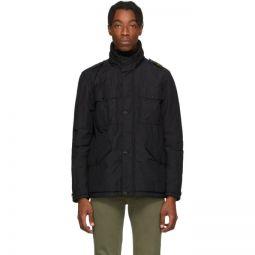 Black Naslan Multi-Pocket Coat