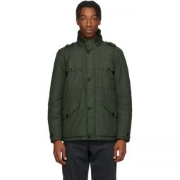 Green Naslan Multi-Pocket Coat