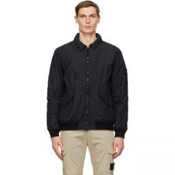 Black Insulated Nylon Jacket