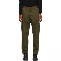 Khaki Cotton Cargo Pants