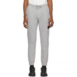 Grey Fleece One Pocket Lounge Pants