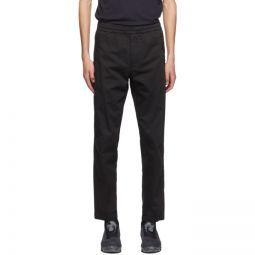 Black Drawstring Trousers