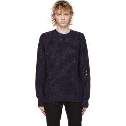 Navy K-Carbon Sweater