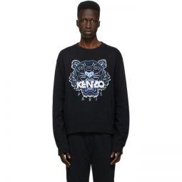 Black Classic Tiger Sweatshirt