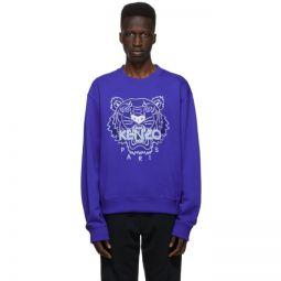 Blue Classic Tiger Sweatshirt
