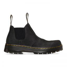 Black Hardie Chelsea Boots