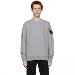 Grey Cotton Classic Sweatshirt