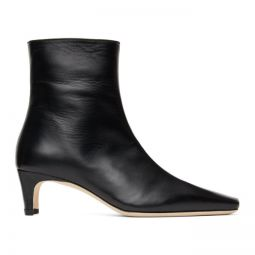 Black Wally Ankle Boots