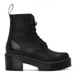 Black Shriver Hi Boots