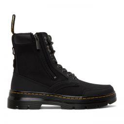 Black Combs Zip Casual Boots
