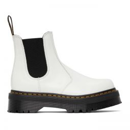 Smooth 2976 Platform Chelsea Boots