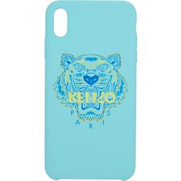 Kenzo Blue & Yellow Tiger iPhone X+ Case