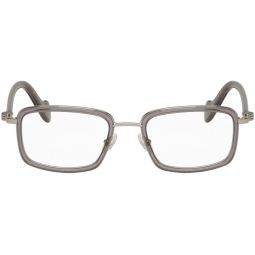 Moncler Silver & Grey ML 5026 Glasses