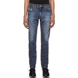 Diesel Blue D-Strukt Washed Jeans