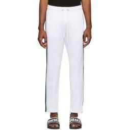 Diesel White P-Yegox Trousers