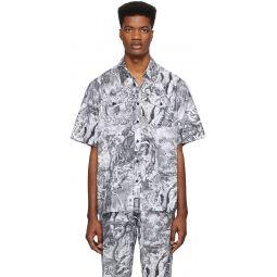 Diesel Black & White S-Wed-Kaos Shirt