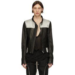 Rick Owens Black Glitter Jacket