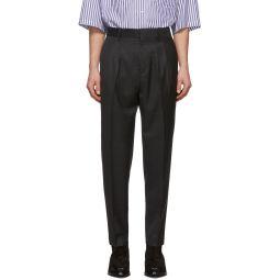 Isabel Marant Grey Check Nicklas Trousers