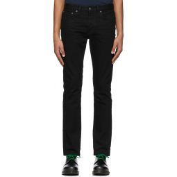 Re/Done Black Slim-Fit Jeans